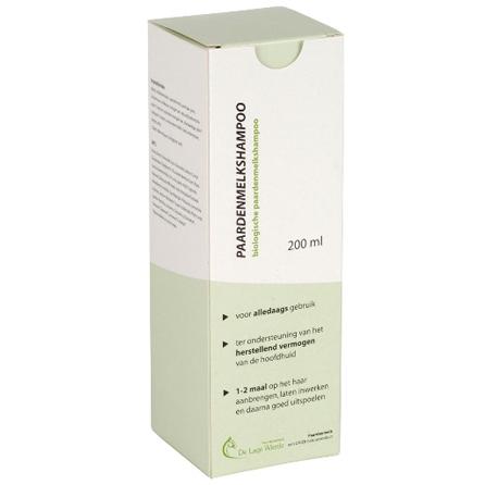 Paardenmelk shampoo met een hoog gehalte aan natuurzuivere paardenmelk.