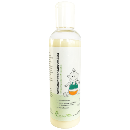 huidlotion lotion paardenmelk baby kind